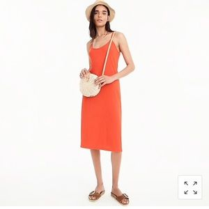 New/tag JCrew Strappy Midi Dress-L